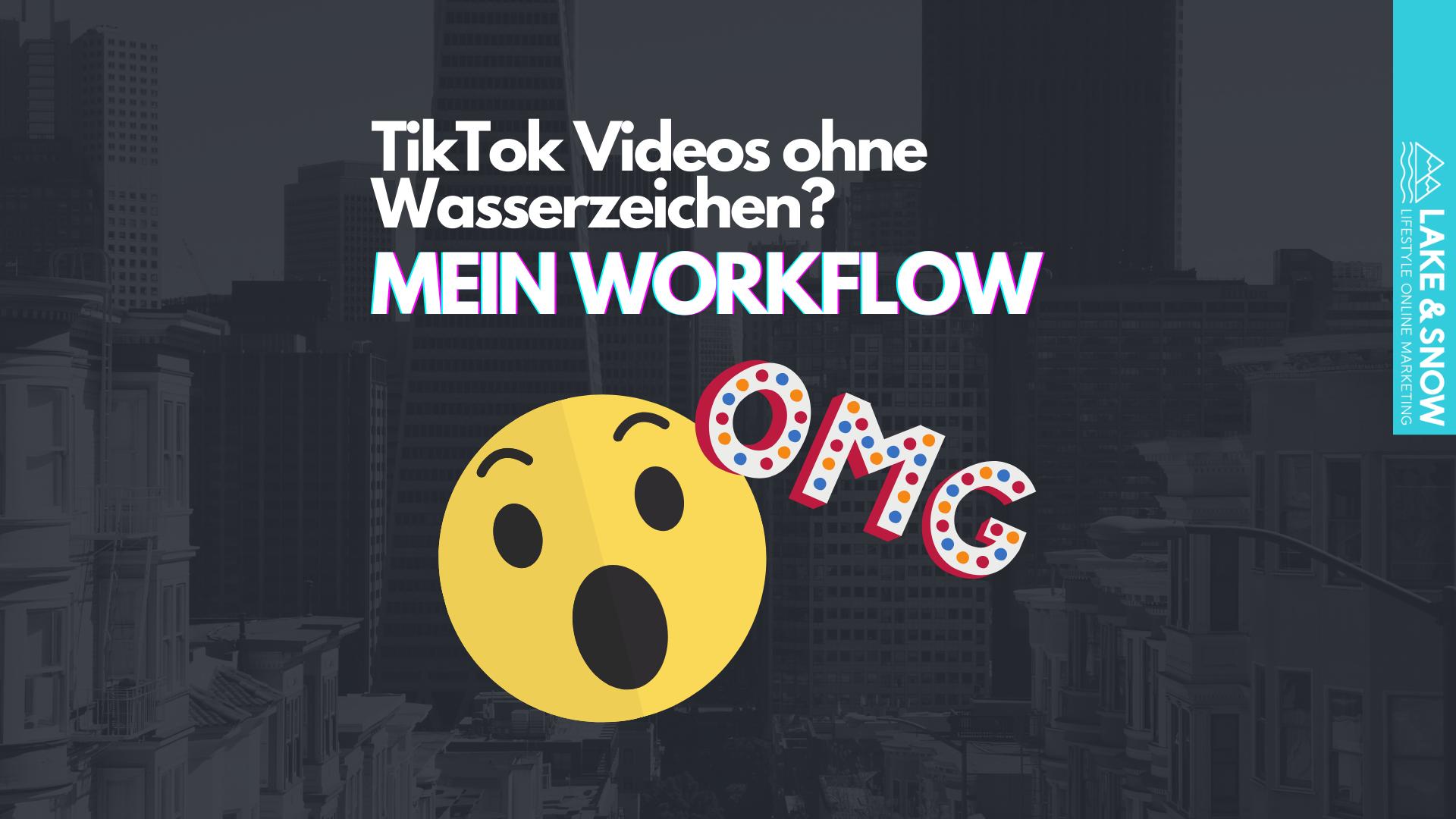 TikTok video ohne Wasserzeichen header